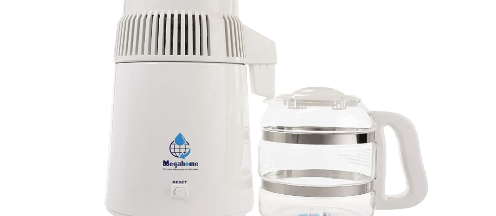 MegaHome Countertop Water Distiller -- Can You Drink Distilled Water?