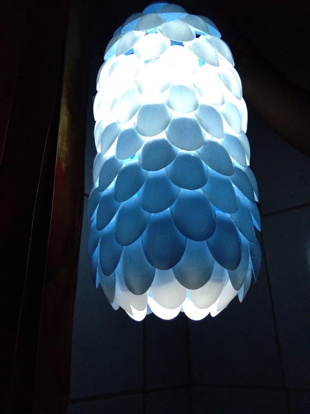 Lampu Hias Dari Sendok : lampu, sendok, Lampu, Sendok, Plastik, Produk, Kreatif
