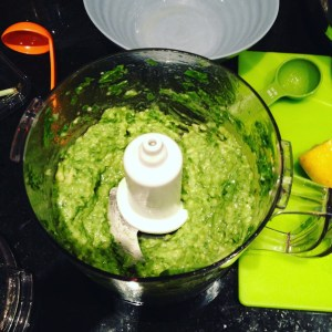 Try not to lick the bowl when you make the avocado sauce for this low iodine diet friendly avocado pasta recipe.