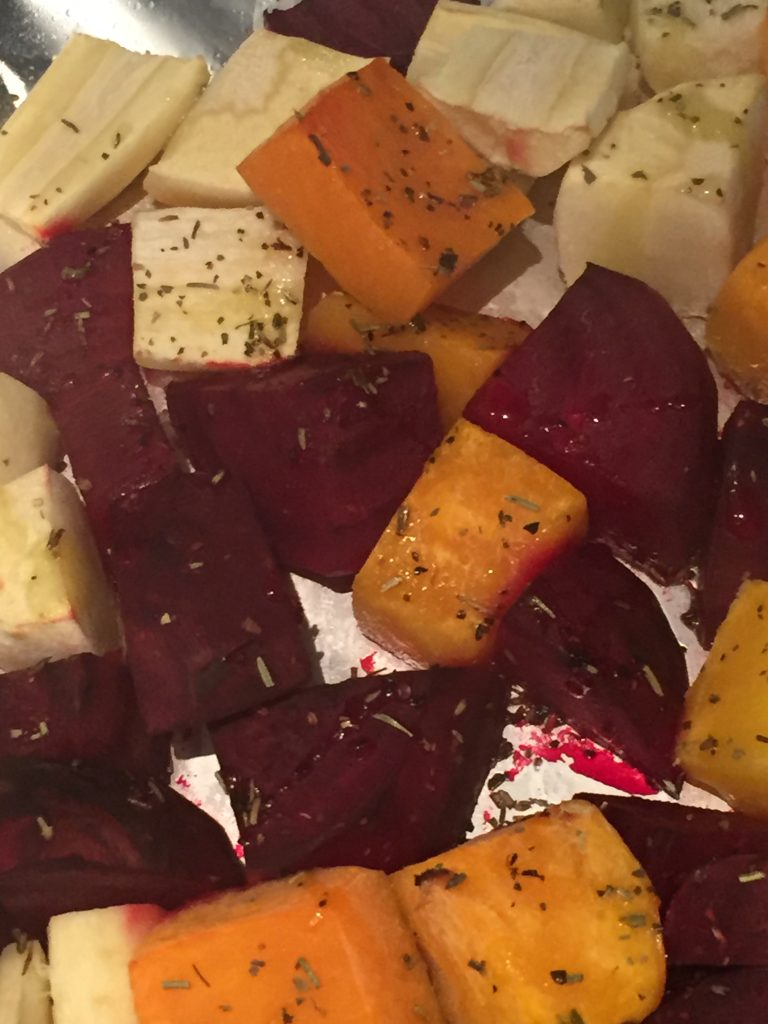Your side dish is ready! Enjoy the Best Roasted Root Vegetables Ever from The Professional Mom Project
