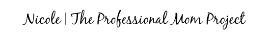 The Professional Mom Project