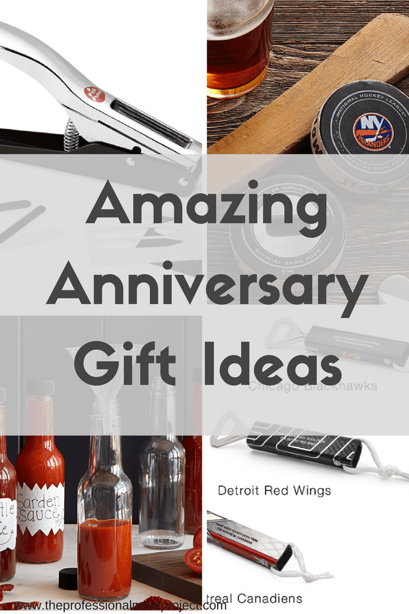 Stumped on what to buy your husband for your anniversary? Check out this list of  sc 1 st  The Professional Mom Project & Anniversary Gift Ideas - The Professional Mom Project