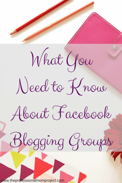 What You Need to Know About Facebook Blogging Groups