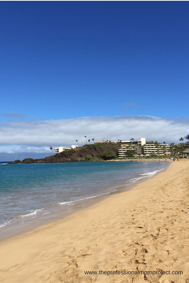 Have fun snorkelling at the Black Rock on Kaanapali beach - also on my list of fun family activities in Maui