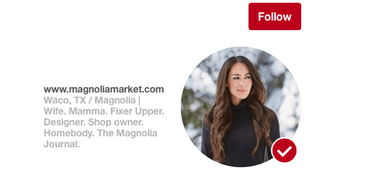 How to follow someone on pinterest - pinterest for beginners