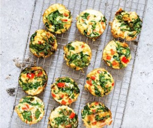 egg cups with veggies a great healthy nut free and vegetarian lunch box idea