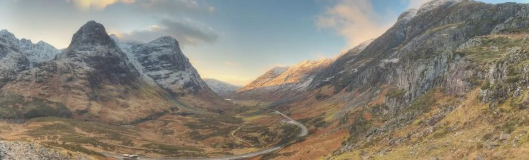 the professional traveller scottish highlands glencoe