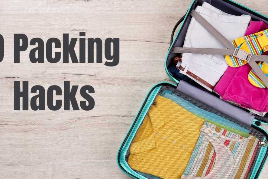 9 packing hacks the professional traveller