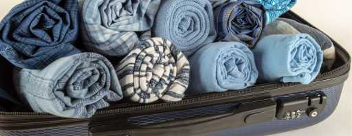 clothes roll the professional traveller packing hacks