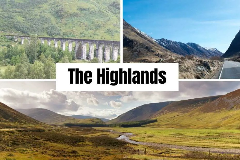 getting to the highlands