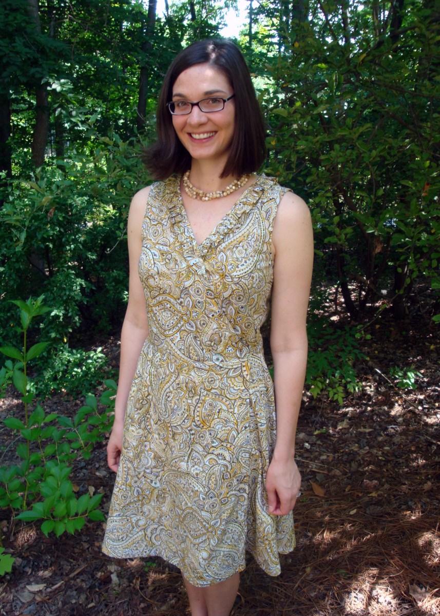 Vintage Summer Dress Professor' Wife