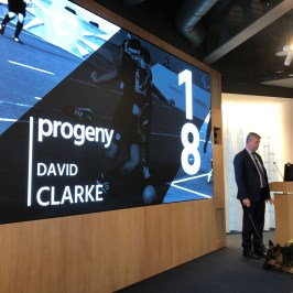 David Clarke speaking at Progeny's Annual Conference 2018