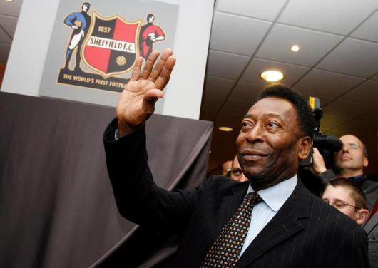 Pele at Sheffield FC