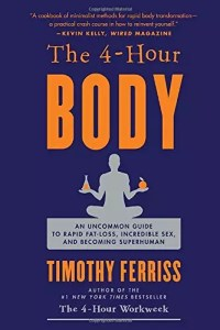 4-Hour Body by Tim Ferriss. Great for reading all about the Slow Carb Diet