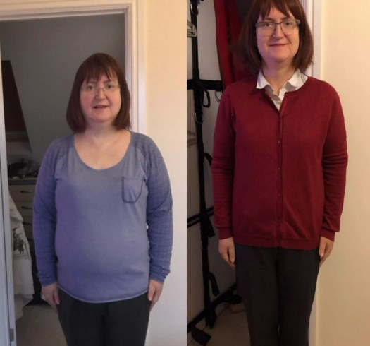 Weight loss journey - after one year