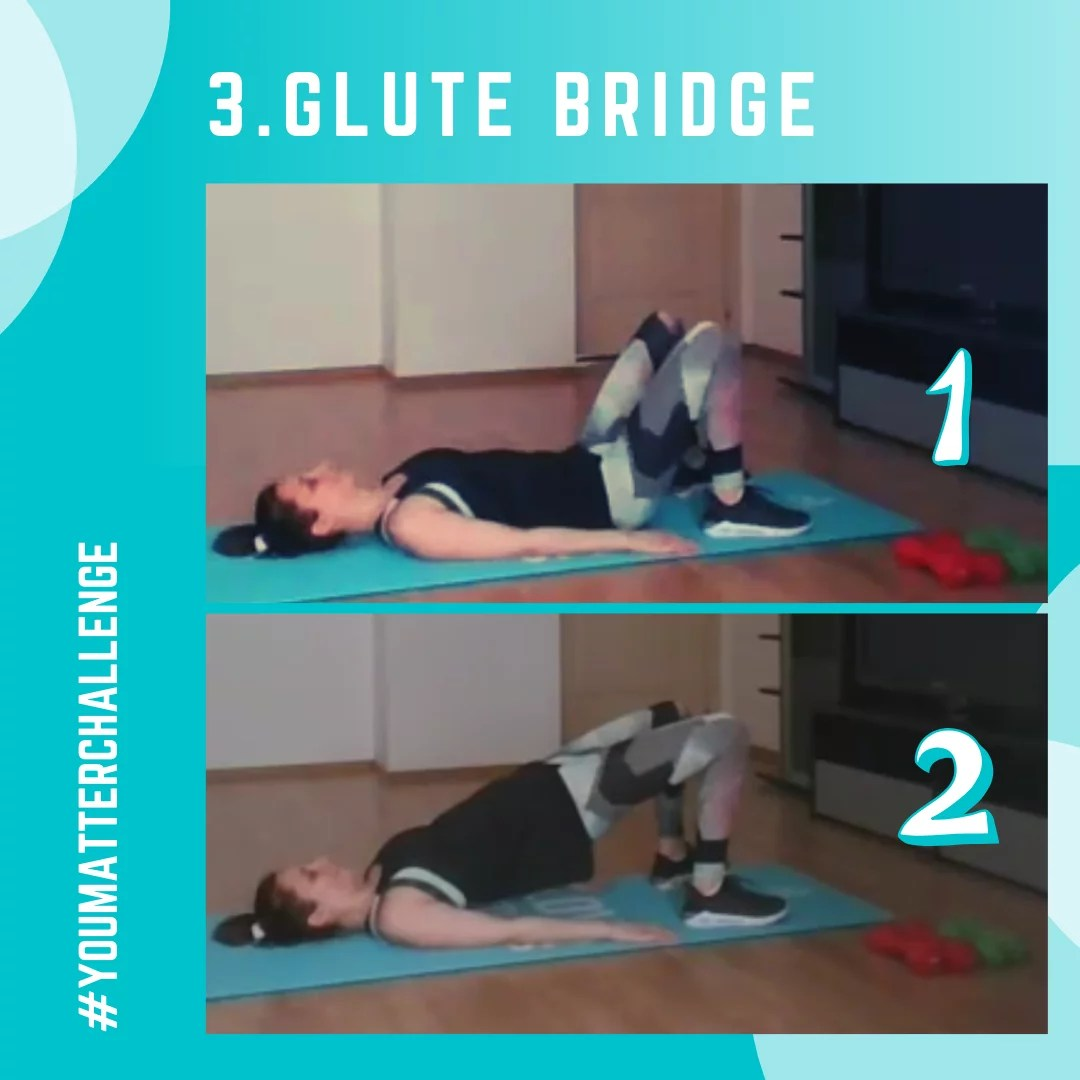 Full Body Workout Exercise 3 - Glute Bridge
