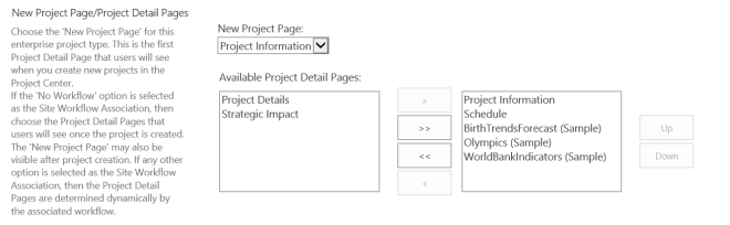 PowerBI samples become PDP's in ProjectOnline