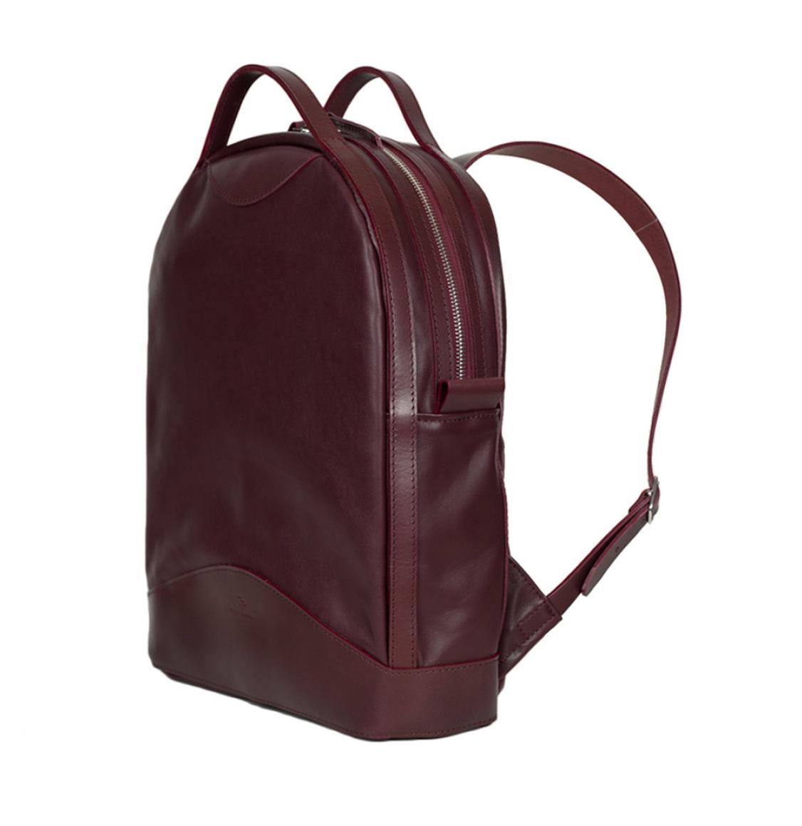 Atelier De L' Armee Voyager Pack Leather Bordeaux