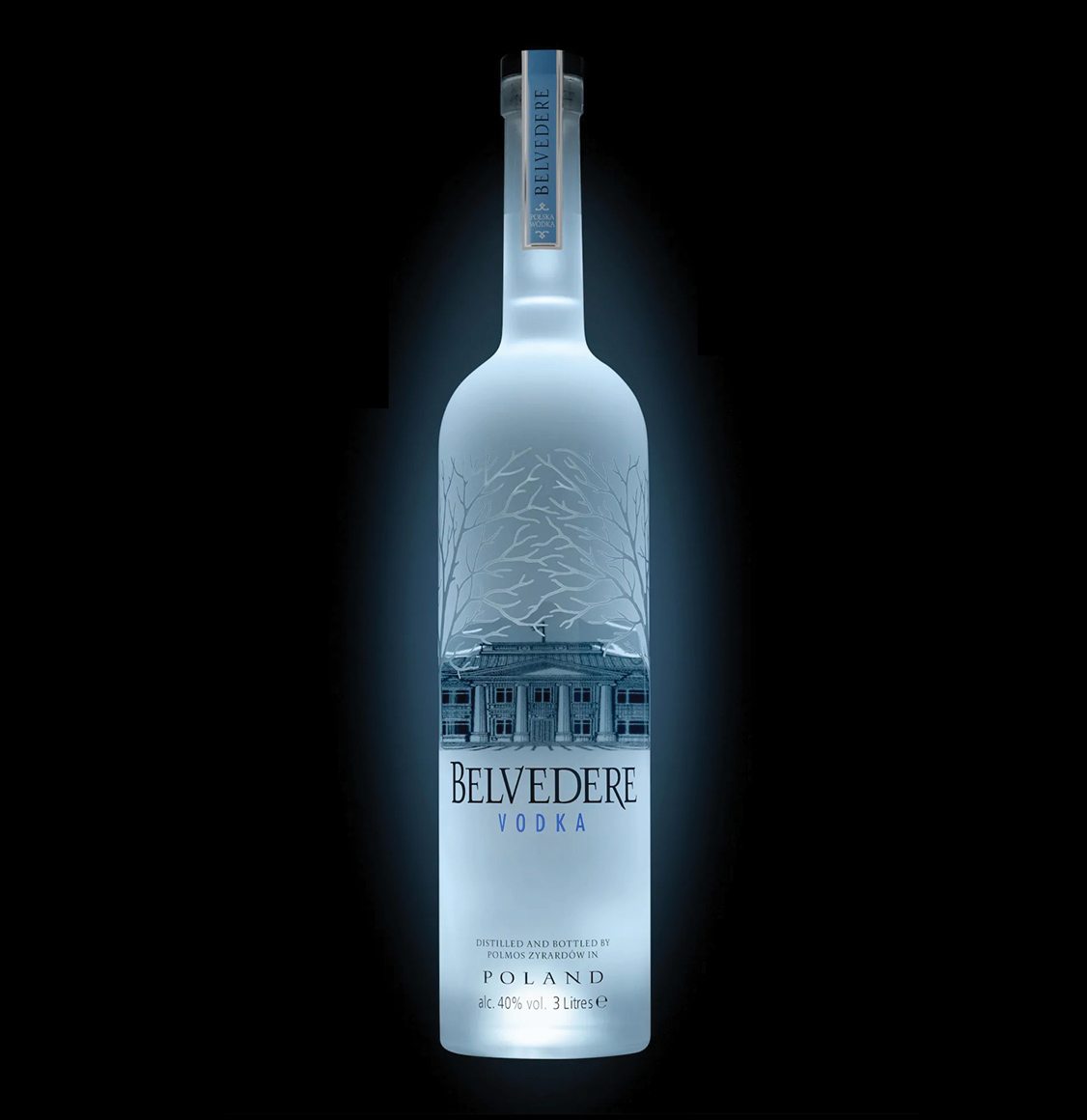 Belvedere Vodka Luminous Night Saber Jeroboam 3L