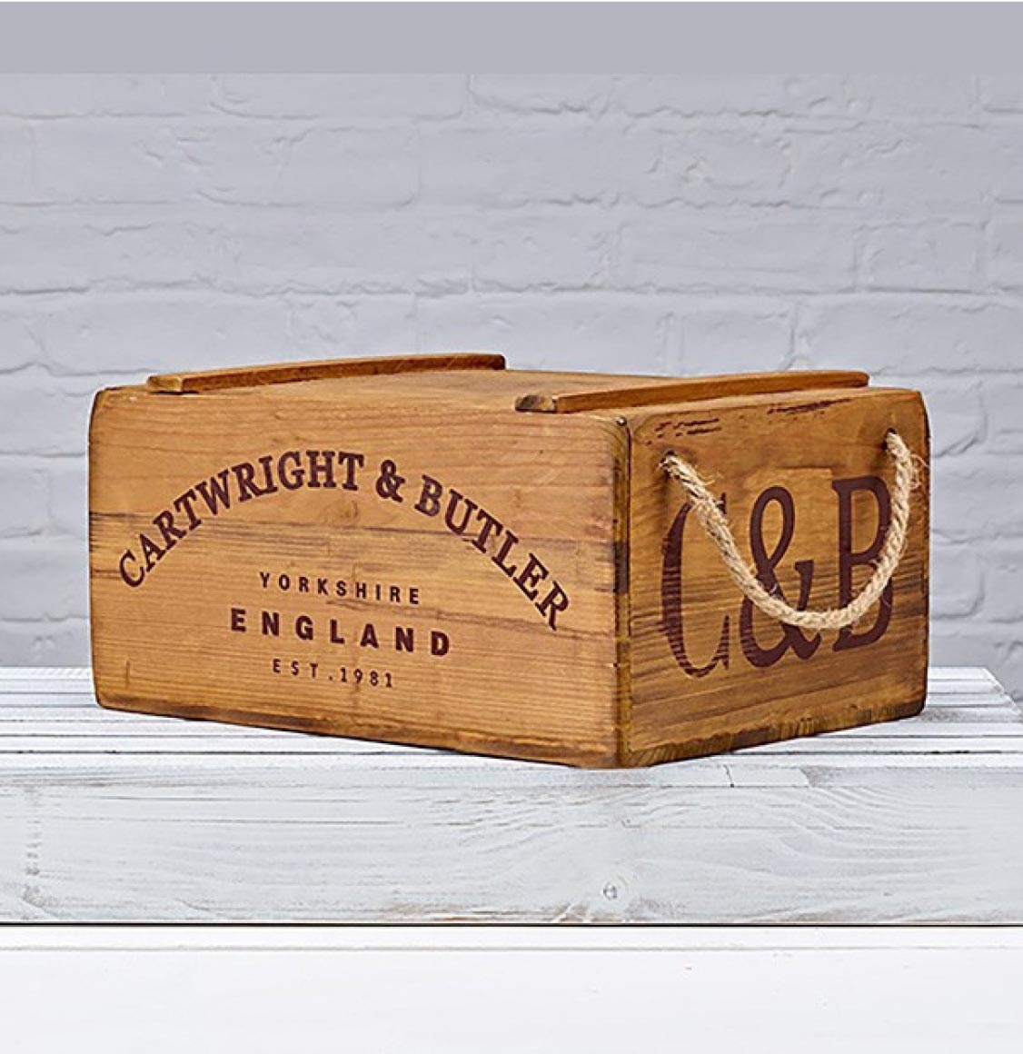 Cartwright and Butler The Great Wooden Crate