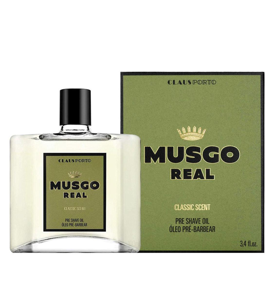 Claus Porto Musgo Real Classic Scent Pre Shave Oil 100ml