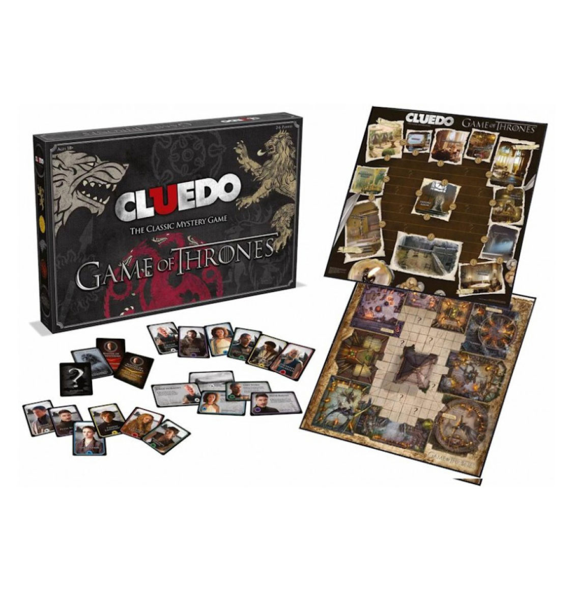 Cluedo Game Of Thrones Edition