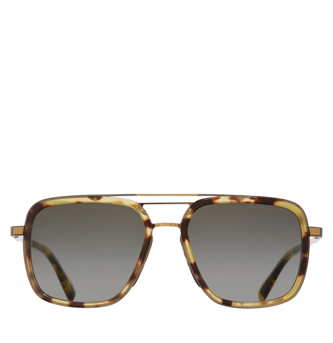 Cutler and Gross 1324-04 Aviator-Frame Tortoiseshell and Gold Metal 58 Γυαλιά Ηλίου