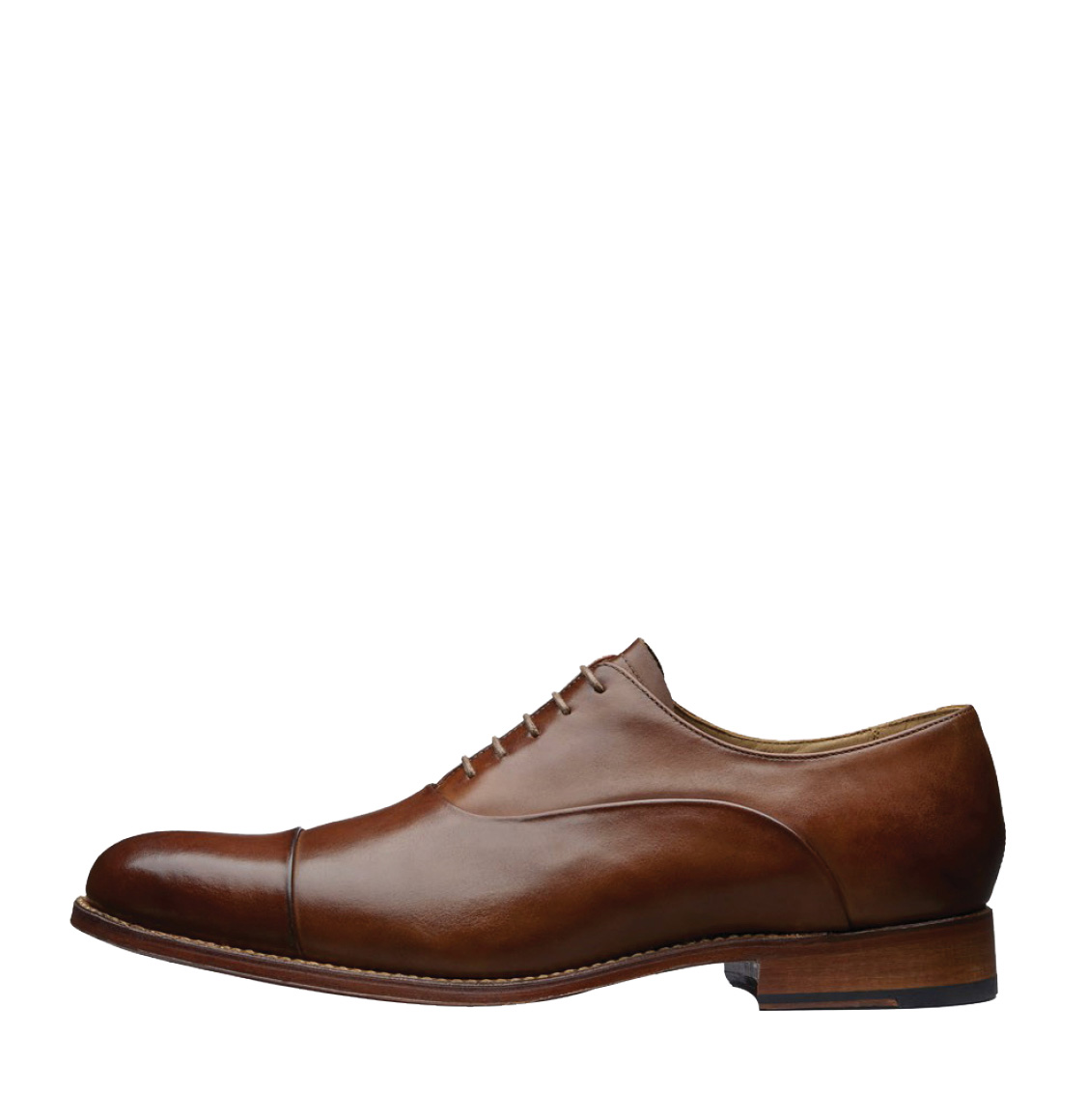 Grenson Bert Tan Oxford Leather Shoes Brown