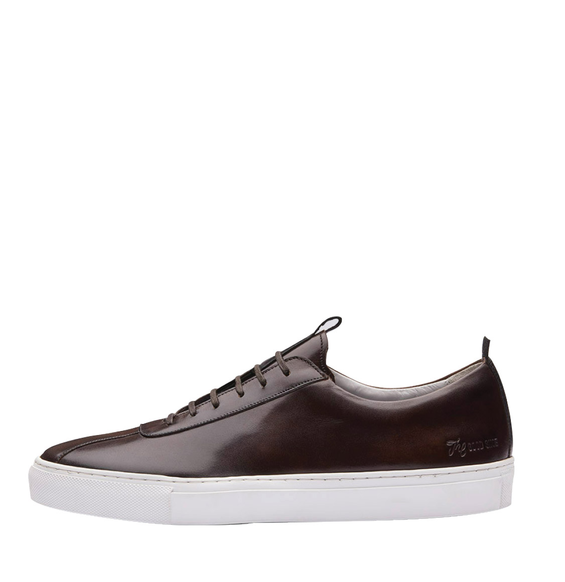 Grenson Brown Leather Oxford Sneaker