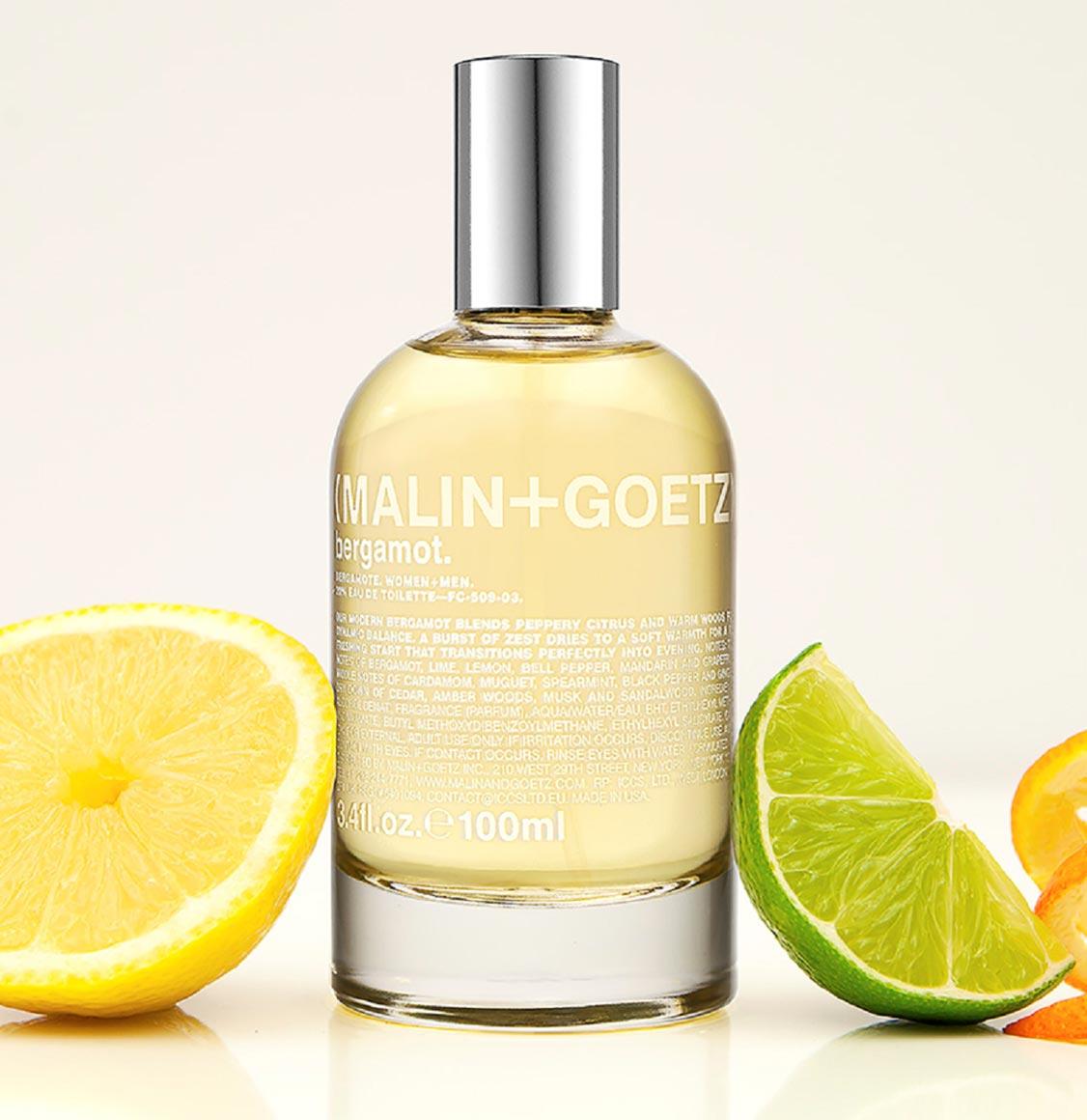 Malin and Goetz Bergamot Eau de Parfum 100ml