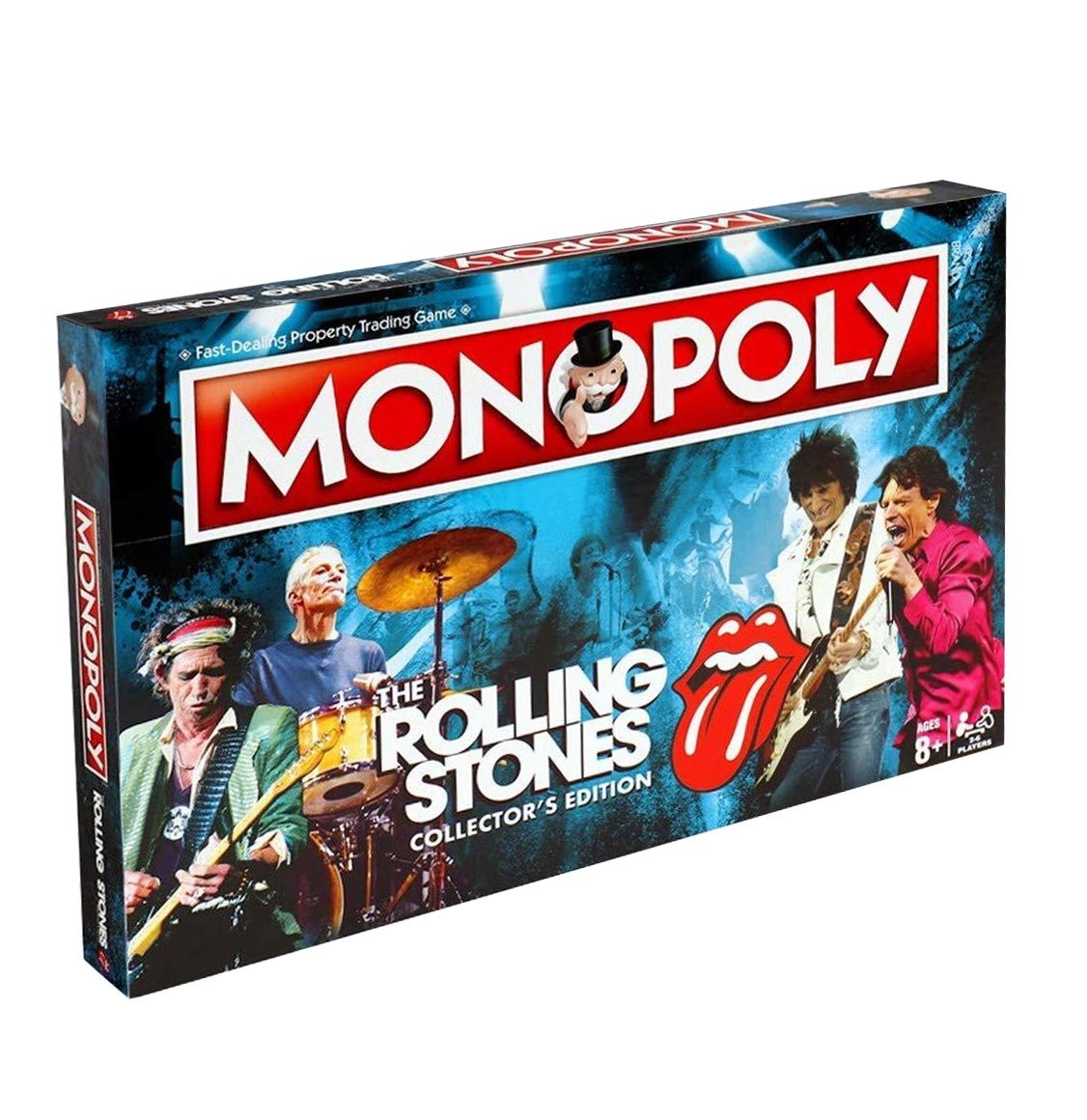 Monopoly The Rolling Stones English Collector's Edition