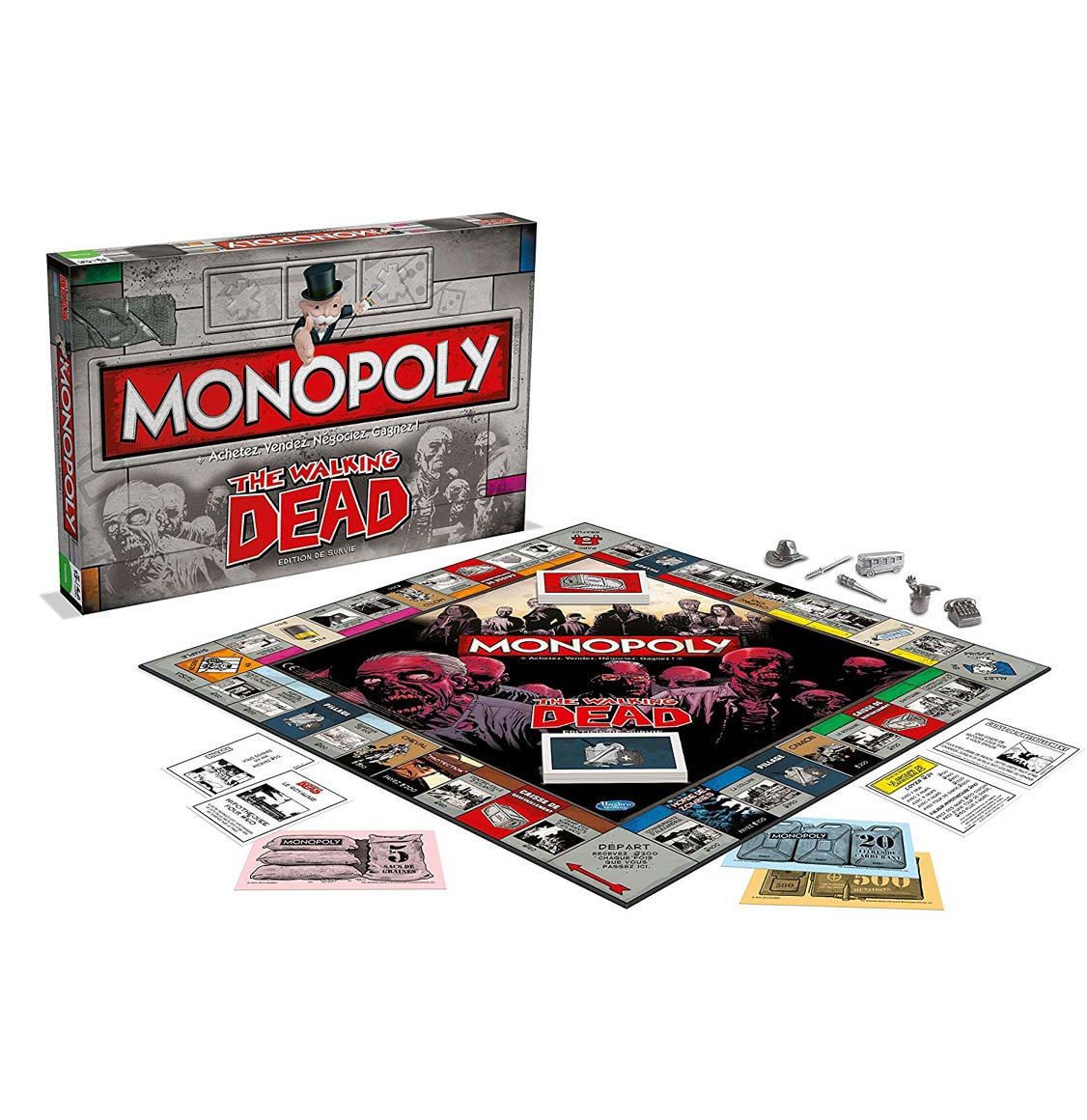 Hasbro Monopoly The Walking Dead Edition