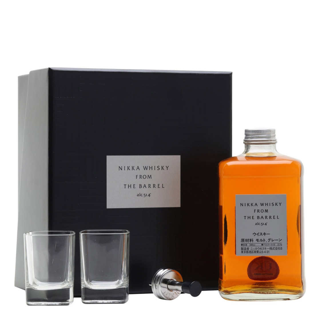 Nikka Whisky From the Barrel 500ml Gift Pack