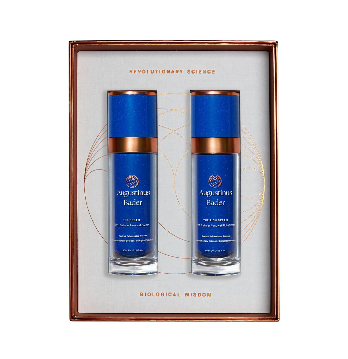 Augustinus Bader The Discovery Duo | The Cream 50ml | The Rich Cream 50ml