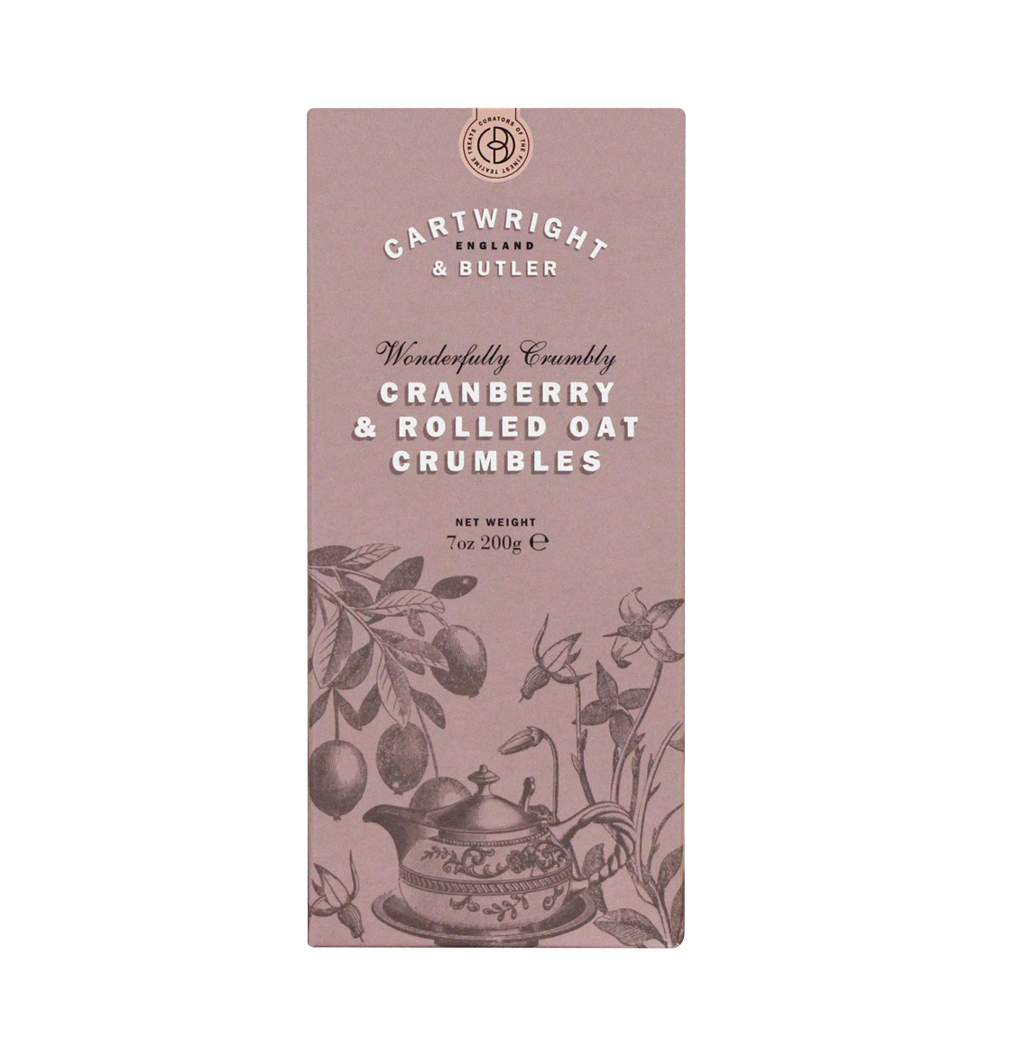 Cartwright and Butler Cranberry Crumbles 200g
