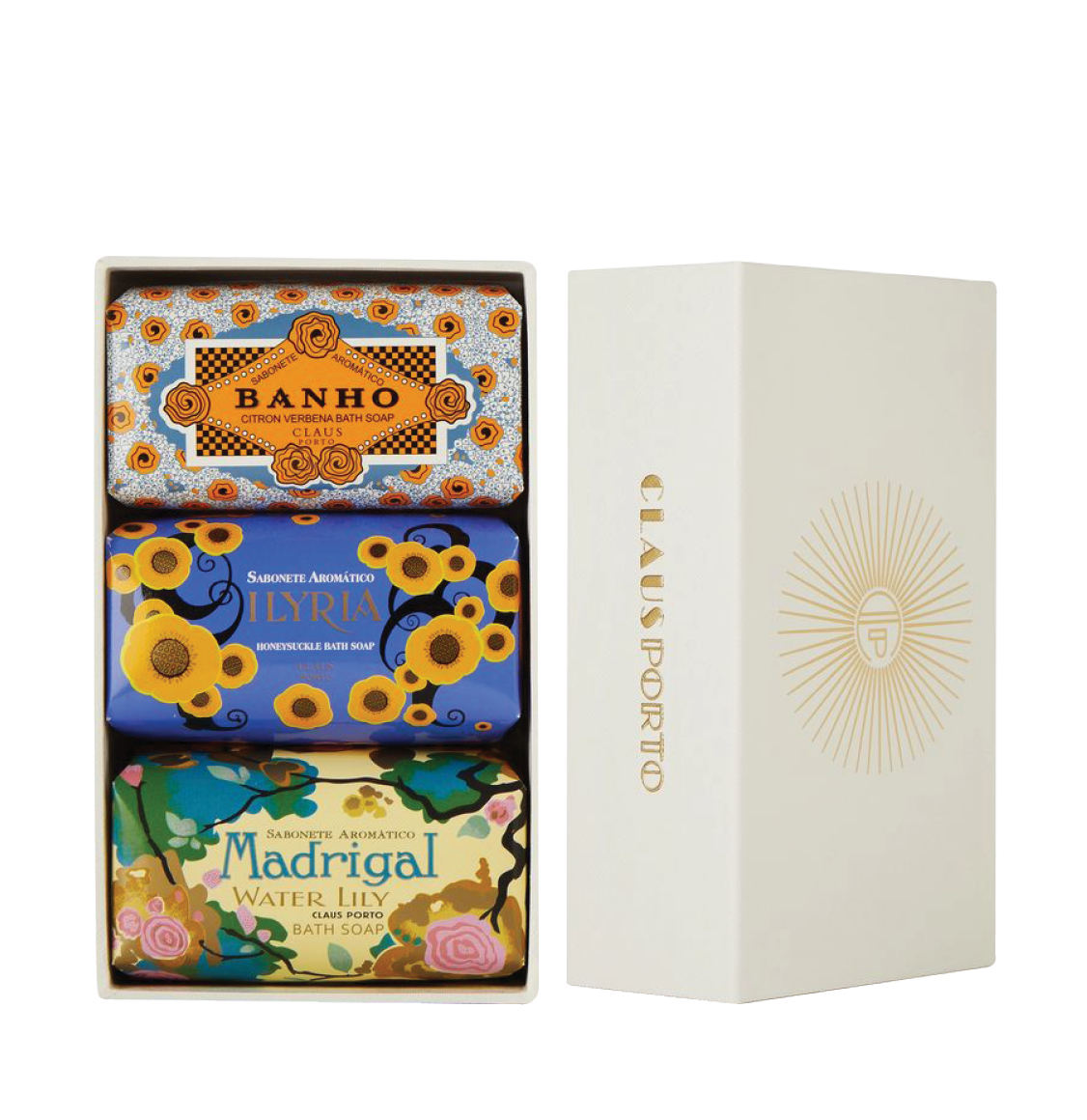 Claus Porto Gift Box Deco Three Soaps