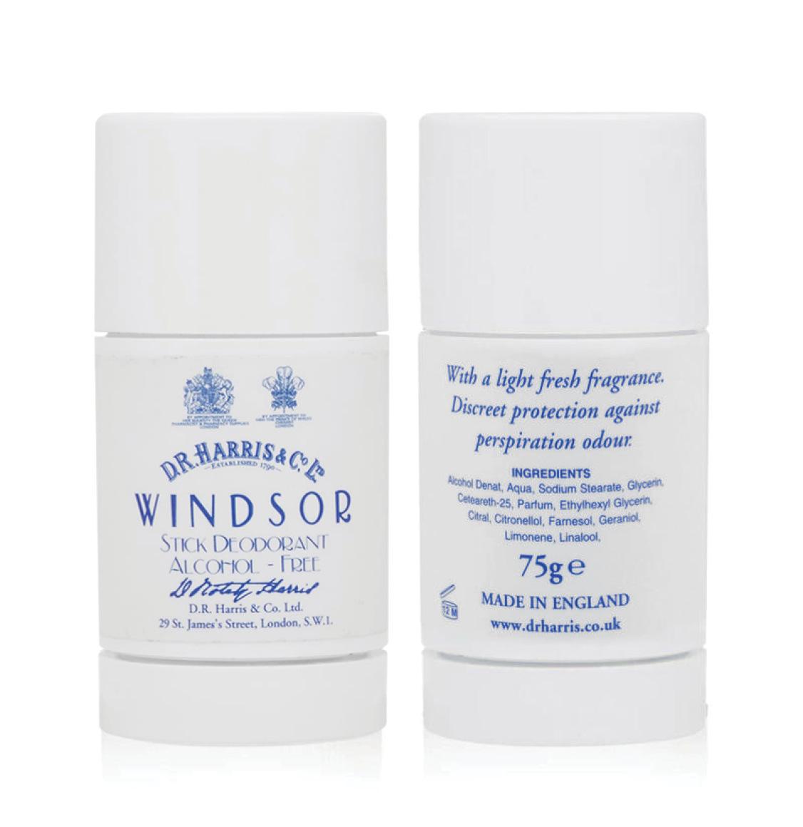 D R Harris Windsor Stick Deodorant 75g