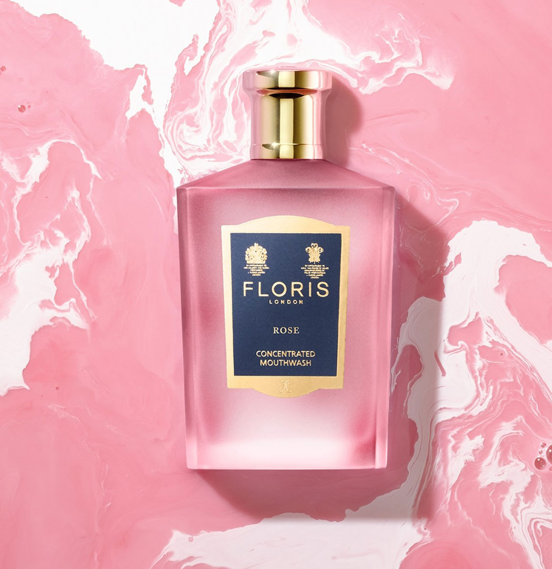 Floris London Rose Concentrated Mouthwash 100ml