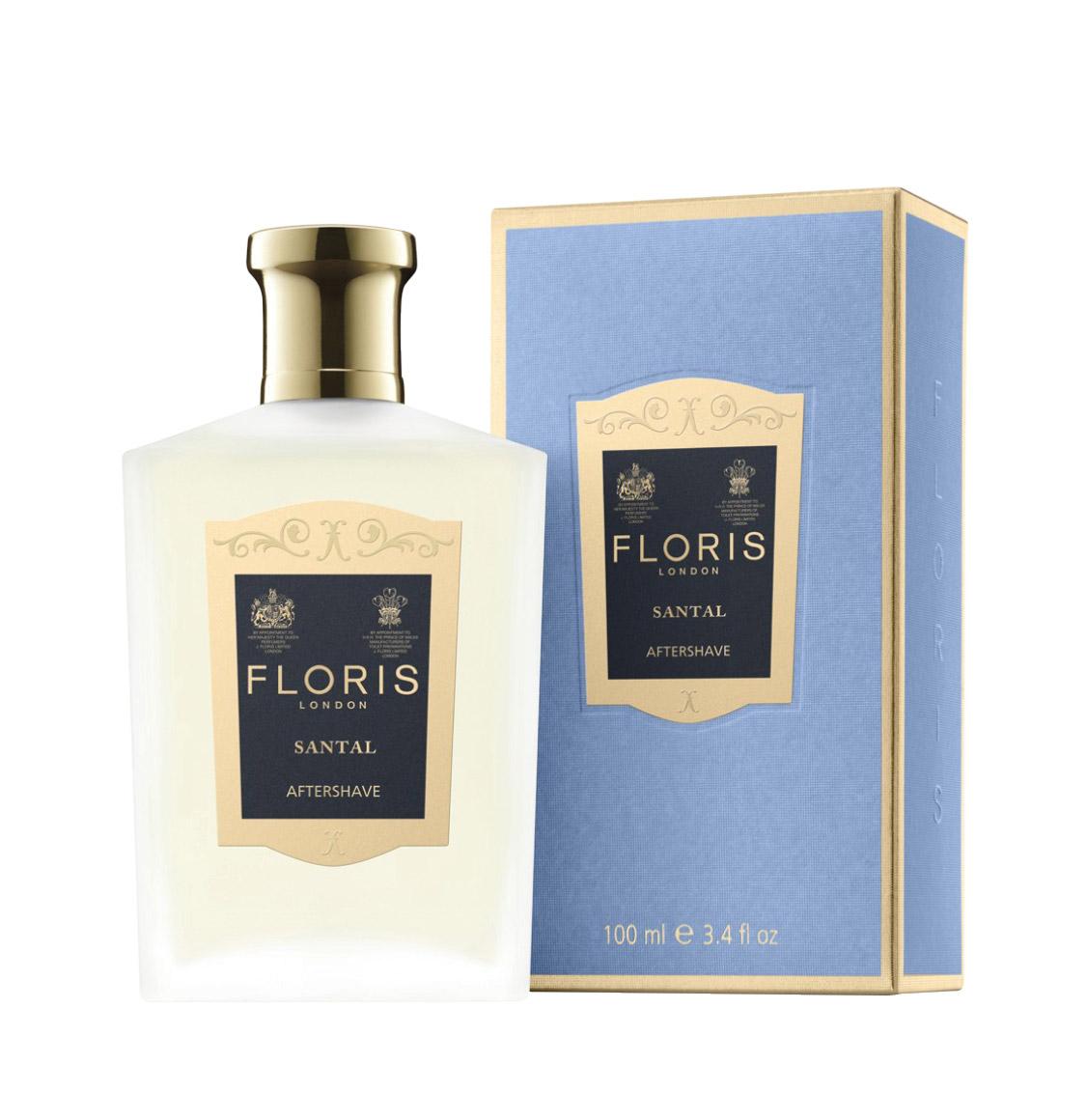 Floris London Santal Aftershave Lotion 100ml