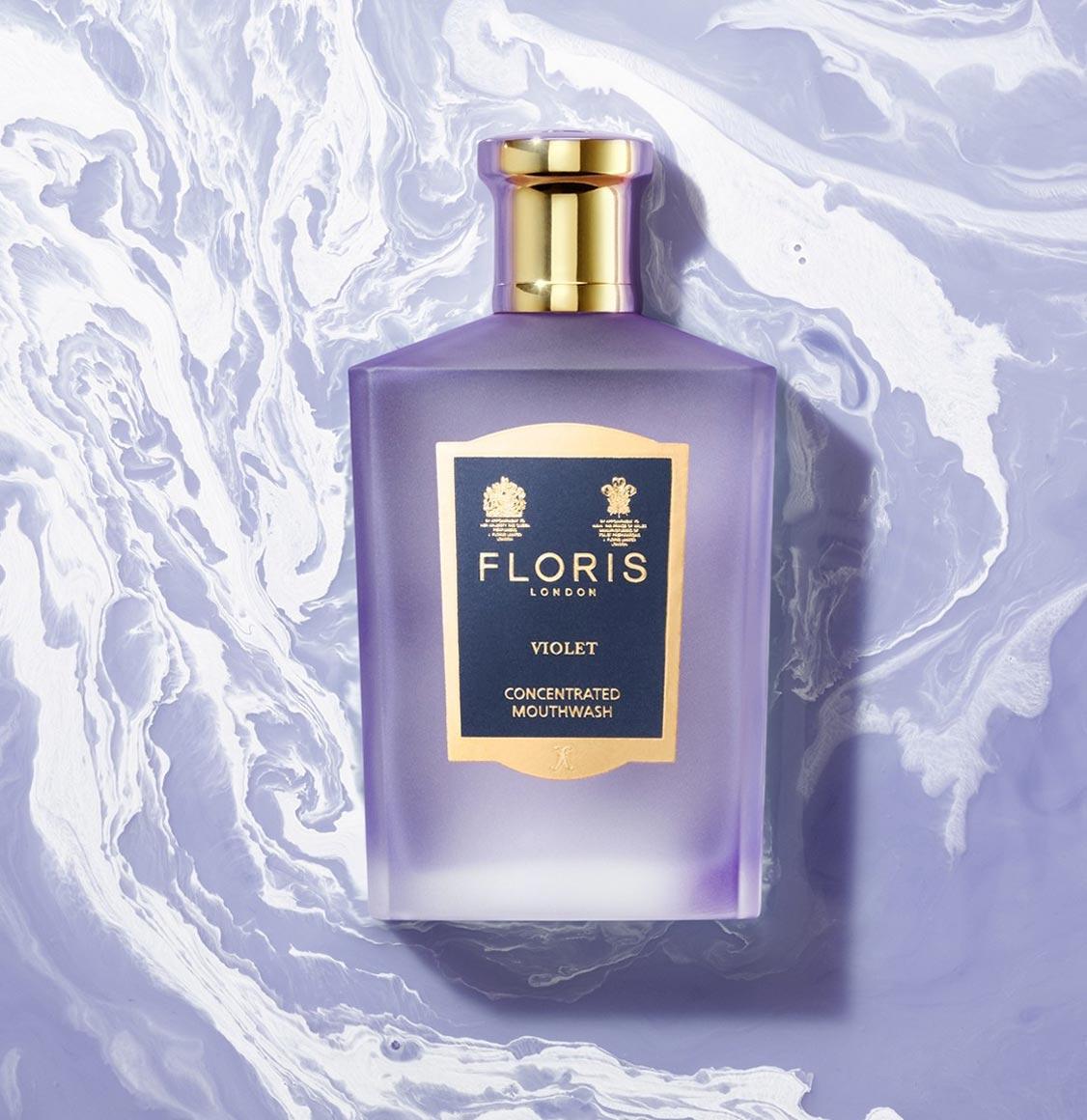 Floris London Violet Concentrated Mouthwash 100ml