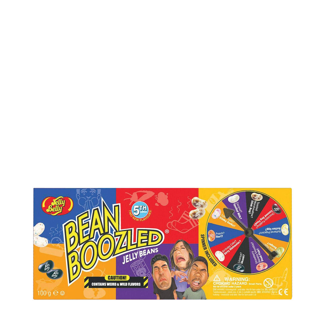 Jelly Belly Bean Boozled Spinner 5th Edition Jelly Beans 100g