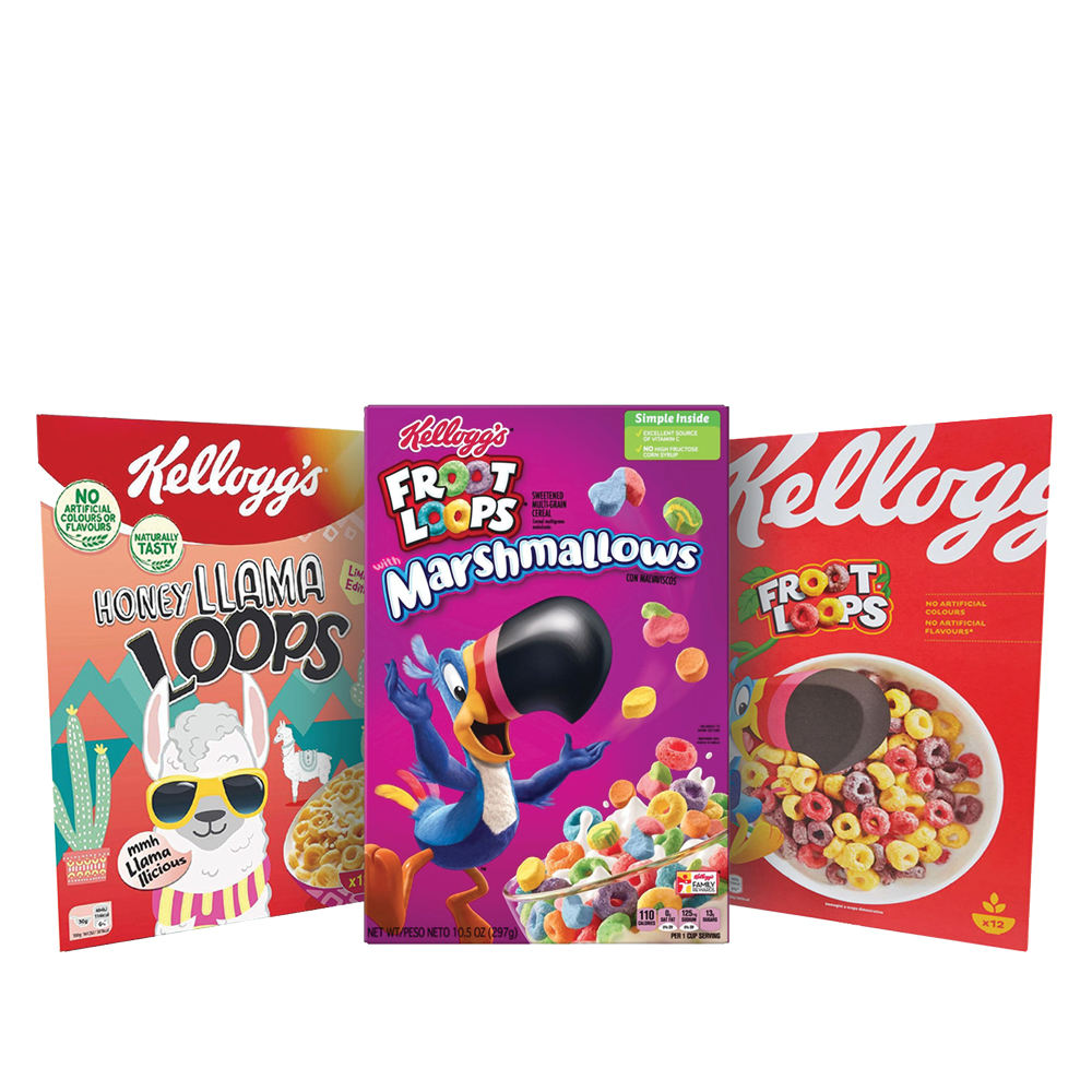 Kellogg's The Froot Loops Collection