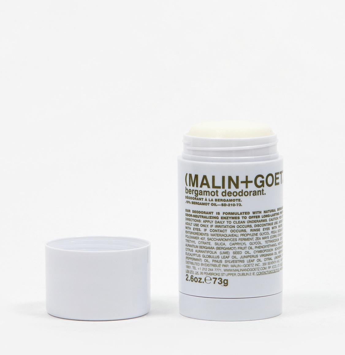 Malin And Goetz Bergamot Stick Deodorant 73g