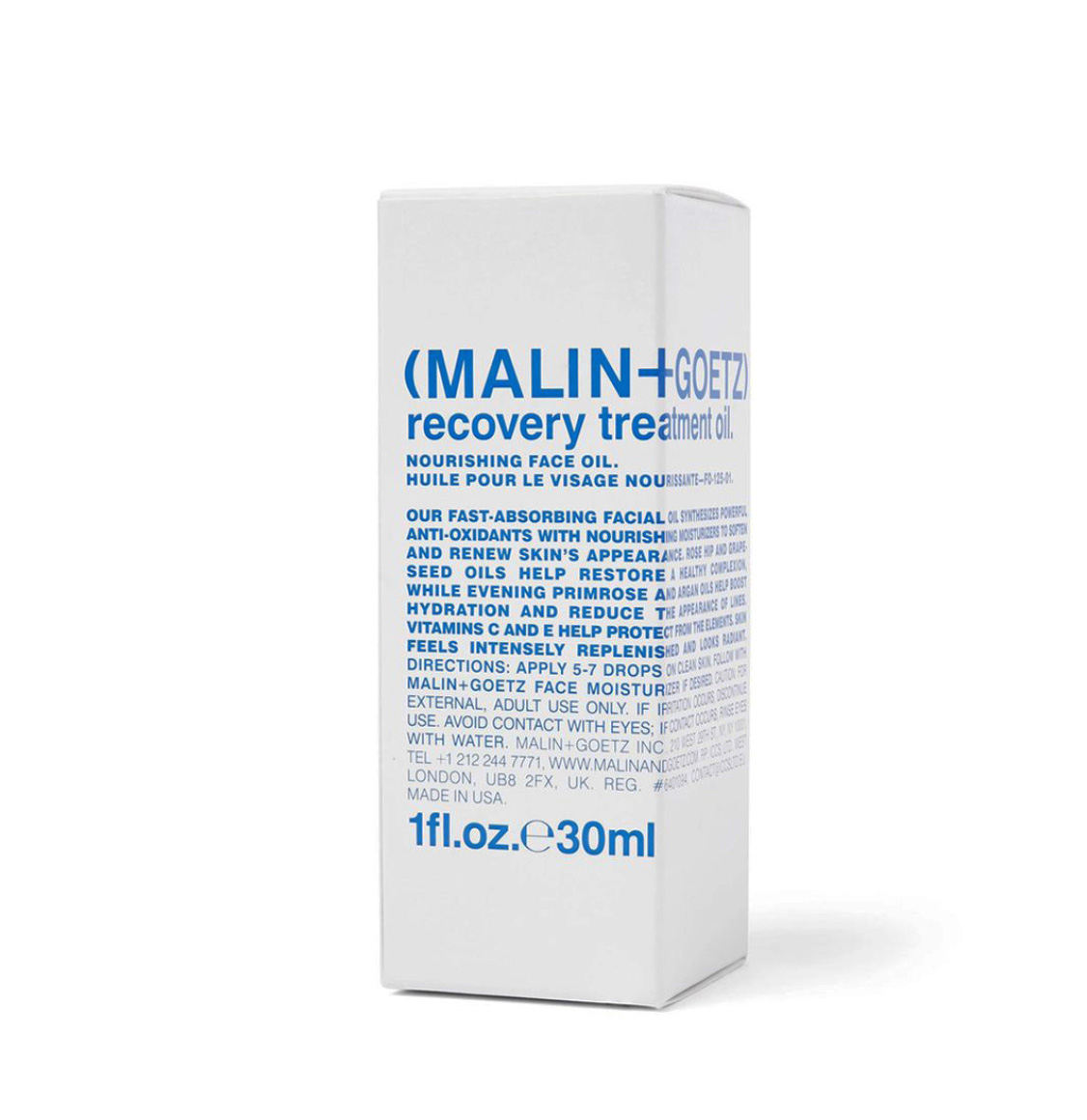 Malin and Goetz Recovery Treatment Oil 30ml