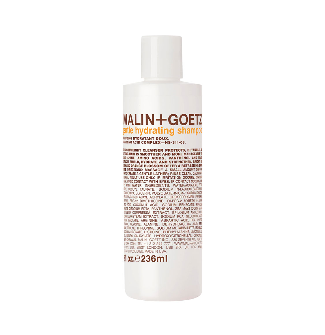 Malin and Goetz Gentle Hydrating Shampoo 236ml