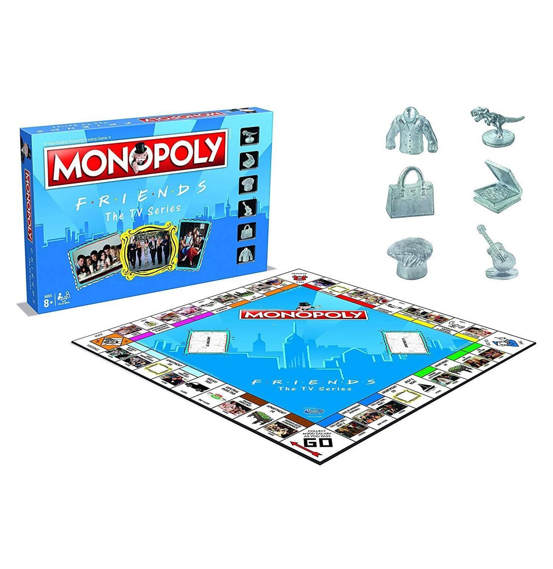 Monopoly Friends English Collector's Edition