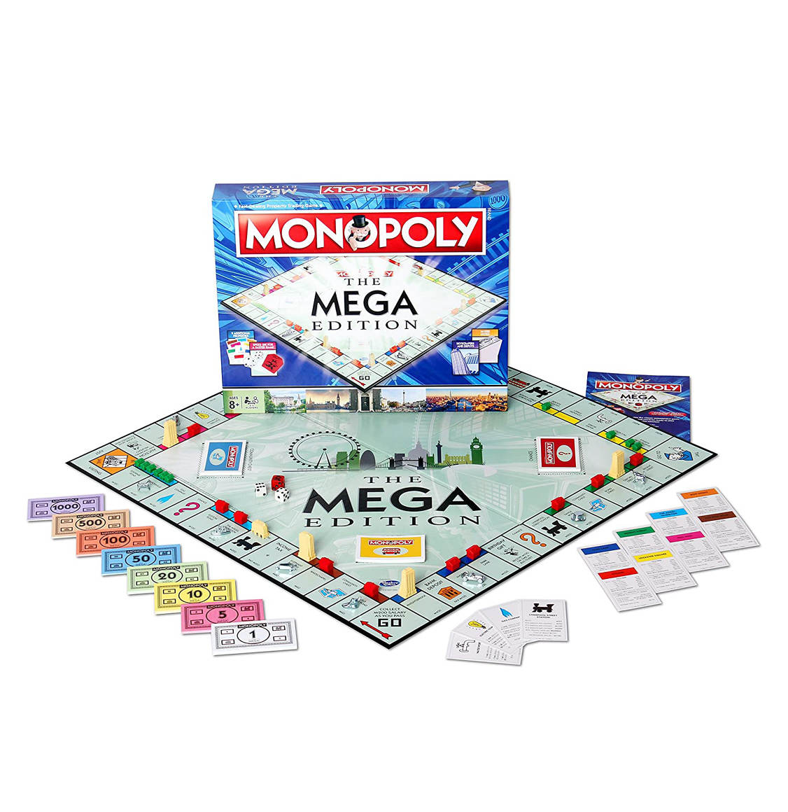Monopoly Mega English Edition