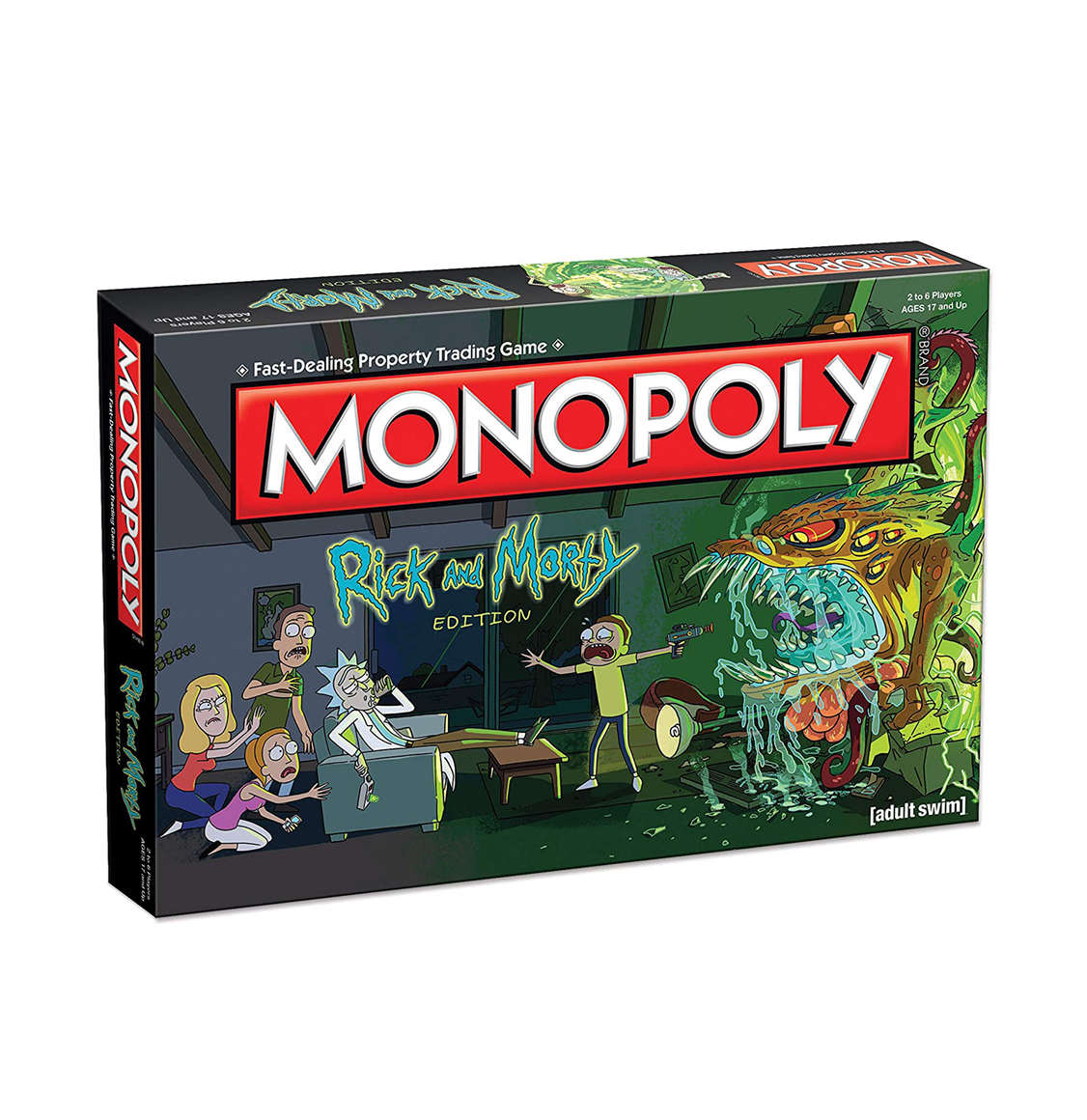 Monopoly Rick and Morty English Edition