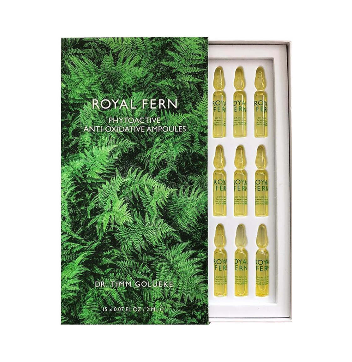 Royal Fern Phytoactive Antioxidative Ampoules 15 x 2ml