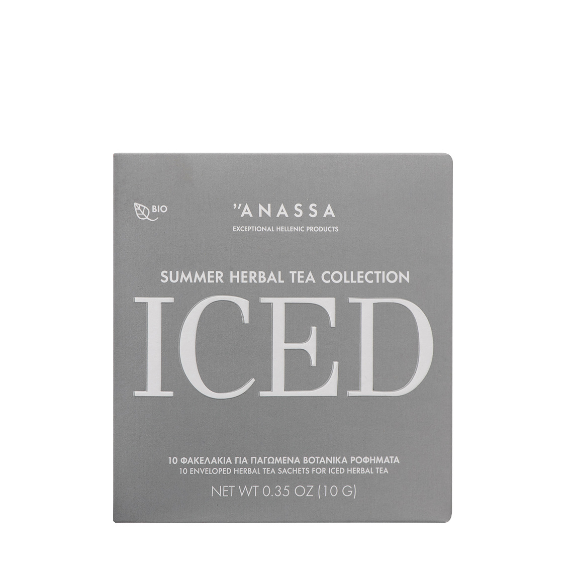 Anassa Organics Iced Summer Συλλογή Βιολογικών Βοτάνων